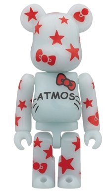 atmos HELLO KITTY ベアブリック(BE@RBRICK)