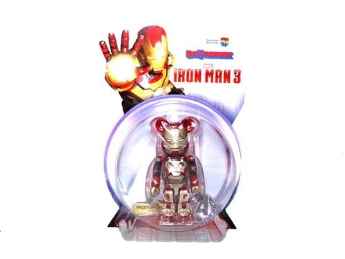 アイアンマン3 MARK Ⅶ DAMAGE Ver 100% ベアブリック (BE@RBRICK)