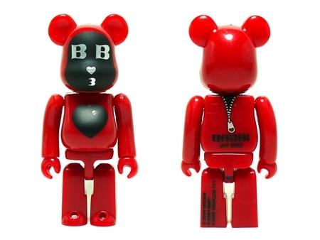 BABBI 2009 Rosso 100% ベアブリック (BE@RBRICK)