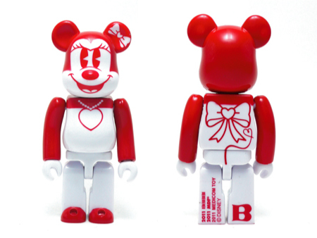 BABBI 2011 Valentine MINNIE MOUSE ベアブリック(BE@RBRICK)