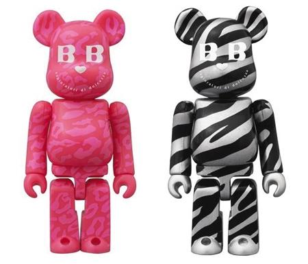 BABBI 2012 LEOPARD & ZEBRA ベアブリック(BE@RBRICK)