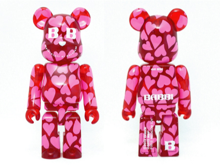BABBI 2012 CUORE ROSSO ベアブリック(BE@RBRICK)