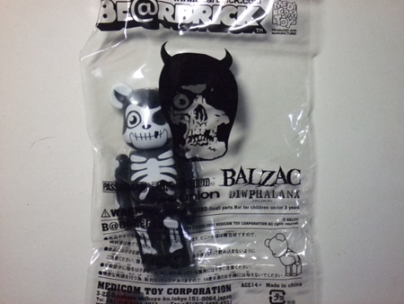 CAME OUT OF THE GRAVE(BALZAC) ベアブリック(BE@RBRICK)