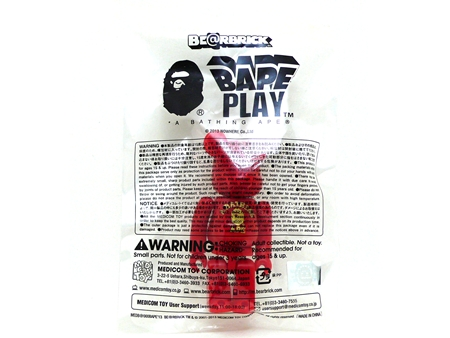 BAPE RED 2013 ベアブリック(BE@RBRICK)