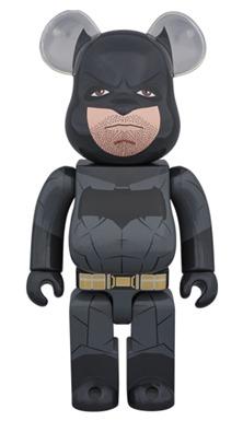 BATMAN 400% バットマン vs スーパーマン ジャスティスの誕生 ベアブリック (BE@RBRICK)