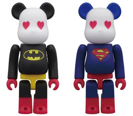 SUPERMAN & BATMAN ボクサーパンツ 2種 ベアブリック(BE@RBRICK)