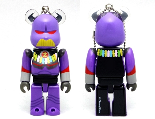 BE@RBRICK WOW! Disney PIXAR Summer Vacation ザーグ ベアブリック
