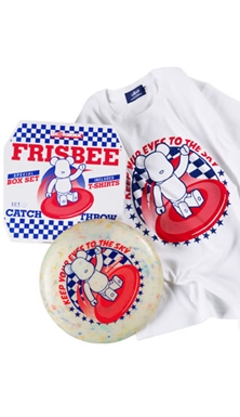 ベアブリック (BE@RBRICK) BE@RTEE FRISBEE BOX SET