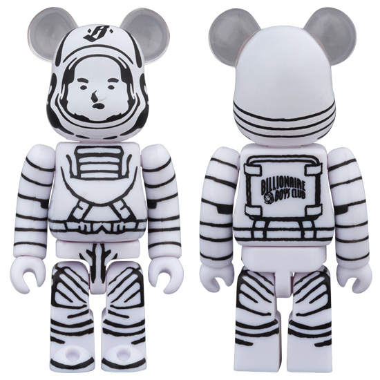 BILLIONAIRE BOYS CLUB ASTRONAUT 100% 400% ベアブリック (BE@RBRICK)