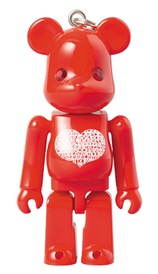Birthday Happy (International Love Heart) 70% ベアブリック(BE@RBRICK)