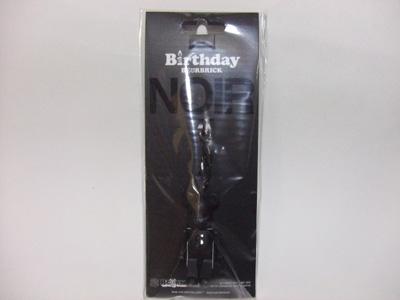 Birthday(バースデー) NOIR(ノワール) 70% ベアブリック(BE@RBRICK)