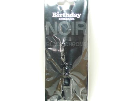 Birthday NOIR BLACK CHROME 70% ベアブリック