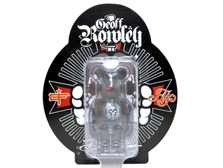 David Flores/Geoff Rowley/Black Book Toy ベアブリック (BE@RBRICK)