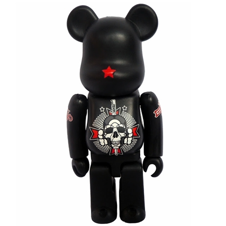 David Flores/Geoff Rowley/Black Book Toy ベアブリック(BE@RBRICK)