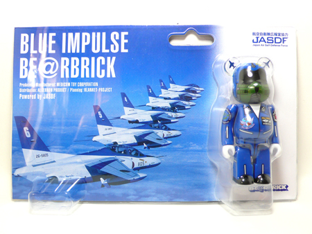 BLUE IMPULSE ベアブリック(BE@RBRICK)