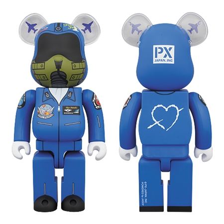 BLUE IMPULSE 400% ベアブリック (BE@RBRICK)