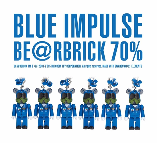 BLUE IMPULSE 70% ベアブリック (BE@RBRICK)