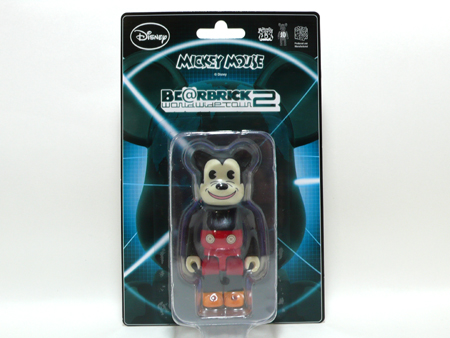WORLD WIDE TOUR 2 MICKEY MOUSE 100% ベアブリック(BE@RBRICK)