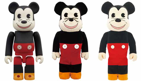 WORLD WIDE TOUR 2 MICKEY MOUSE 100% 400% 1000% ベアブリック(BE@RBRICK)