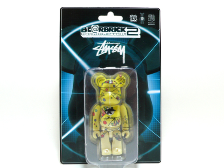 WORLD WIDE TOUR 2 STUSSY 100% ベアブリック(BE@RBRICK)