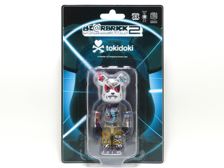 WORLD WIDE TOUR 2 TOKIDOKI 100% ベアブリック(BE@RBRICK)