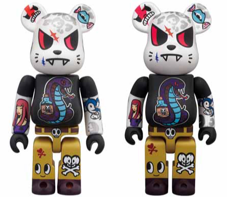 WORLD WIDE TOUR 2 TOKIDOKI 100% 400% ベアブリック(BE@RBRICK)