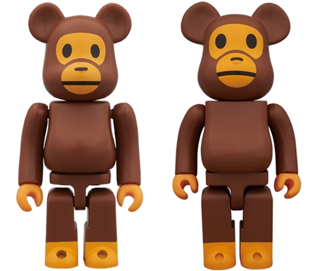 WORLD WIDE TOUR 2 BABY MILO 100% 400% ベアブリック(BE@RBRICK)