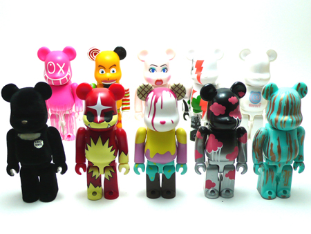 WORLD WIDE TOUR Aset ベアブリック(BE@RBRICK)