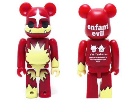 WORLD WIDE TOUR DEVILROBOTS ベアブリック(BE@RBRICK)