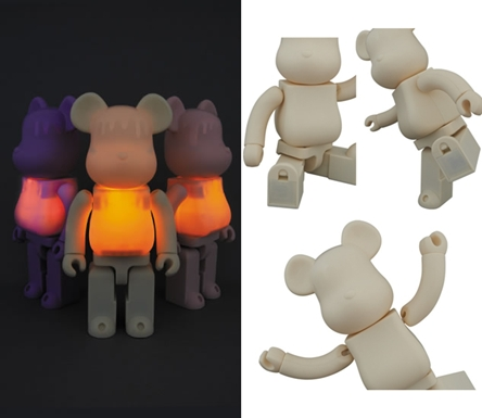 CANDLE 400% 3種 ベアブリック (BE@RBRICK)
