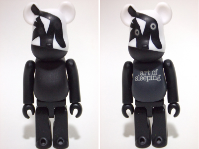Caperino & Peperone art of sleeping 100% ベアブリック(BE@RBRICK)