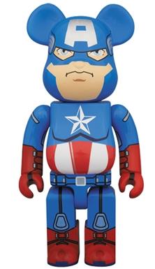 キャプテン・アメリカ 400% ベアブリック(BE@RBRICK)