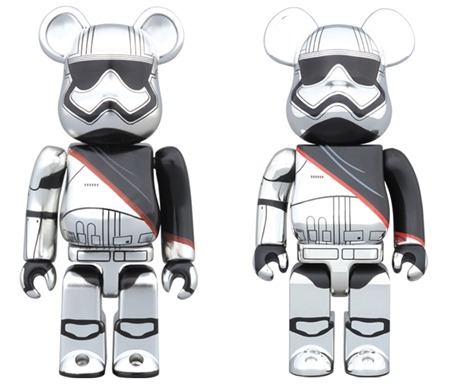 STAR WARS CAPTAIN PHASMA 100% 400% ベアブリック (BE@RBRICK)