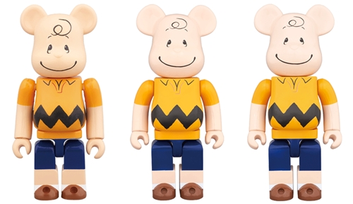 CHARLIE BROWN 100% 400% 1000% ベアブリック (BE@RBRICK)