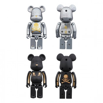 mastermind JAPAN 超合金 200% 2pack (GOLD STRIPE & CHROME SILVER)