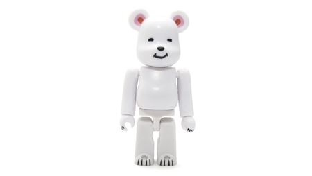 CLOT POLAR BEAR WHITE 100% ベアブリック (BE@RBRICK)