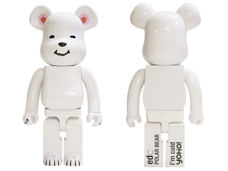 CLOT POLAR BEAR WHITE 1000% ベアブリック (BE@RBRICK)