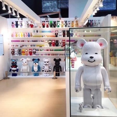 CLOT POLAR BEAR WHITE 1000% ベアブリック (BE@RBRICK)