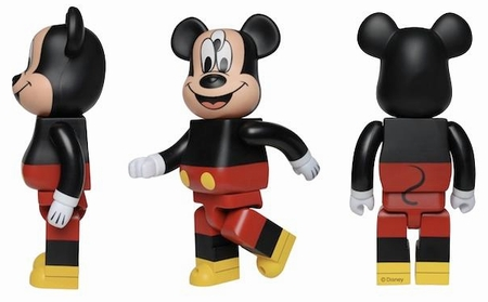 CLOT THE 3-EYED MICKEY 100% ベアブリック(BE@RBRICK)