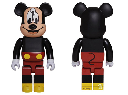 CLOT THE 3-EYED MICKEY 1000% ベアブリック(BE@RBRICK)