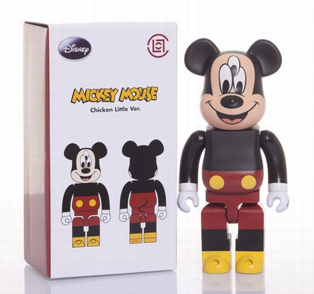 CLOT THE 3-EYED MICKEY 400% ベアブリック(BE@RBRICK)