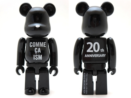 COMME CA ISM 20th Anniversary ベアブリック(BE@RBRICK)