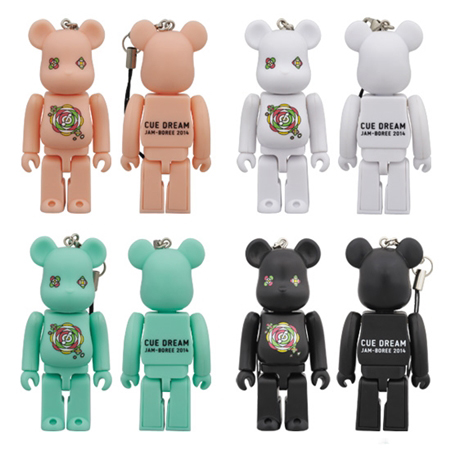 CUE DREAM JAM-BOREE 2014 4種 ベアブリック (BE@RBRICK)