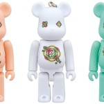 CUE DREAM JAM-BOREE 2014 PINK/WHITE/GREEN ベアブリック (BE@RBRICK) [発売]