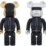 Daft Punk 1000% 2pc ベアブリック(BE@RBRICK)[情報その2]