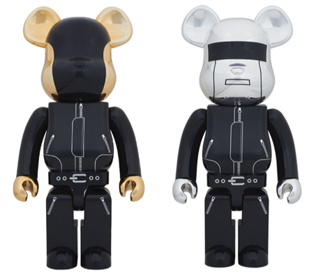 Daft Punk 1000% 2pc ベアブリック(BE@RBRICK)