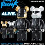 Daft Punk 400% 2pc ベアブリック(BE@RBRICK)[受注終了]