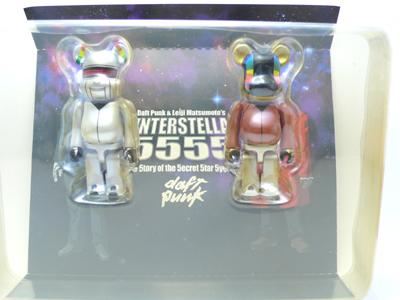 Daft Punk インターステラ 5555 2pc ベアブリック(BE@RBRICK)