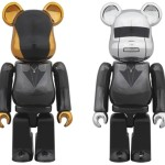 Daft Punk Random Access Memories Ver 100% 2pc ベアブリック (BE@RBRICK) [予約終了]