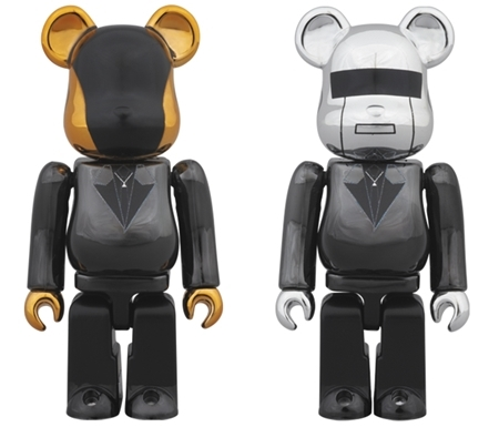Daft Punk Random Access Memories Ver 100% 2pc ベアブリック (BE@RBRICK)